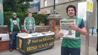 Síol na hÉireann Volunteers On The Streets Of Letterkenny!