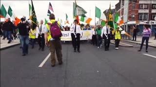Síol na hÉireann Lead Anti - Lockdown Protest In Dublin 2020!