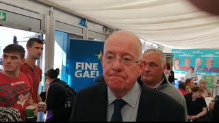 18 9 19 Minister Charlie Flanagan Runs from hard questions