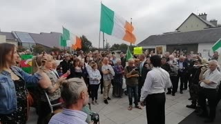 Niall McConnell Gives Speech at National Novena, Knock Co. Mayo!