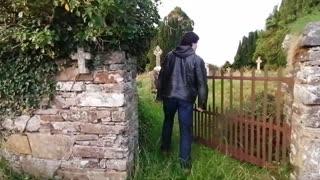 Síol na hÉireann vistit anciet site at  Cluain Laoigh, Lifford Co. Donegal