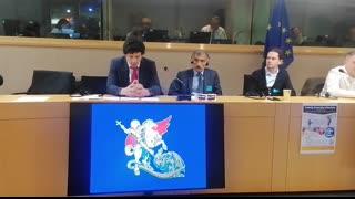 The Irish Patriot delivers speech in the EU Parliament!