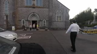 Sharia Appeasing Priest Confronted! Ballyhaunis, Co. Mayo!